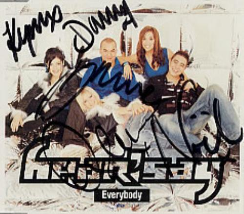 "Hear'say Everybody CD single (CD5 / 5"") UK HSYC5EV205899"