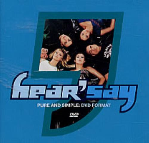 Hear'say Pure And Simple DVD Single UK HSYDSPU205491