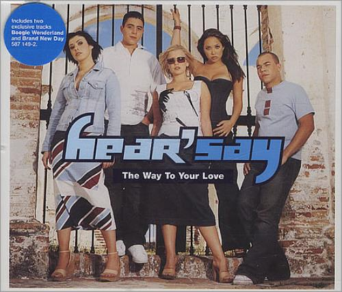 "Hear'say The Way To Your Love CD single (CD5 / 5"") UK HSYC5TH388292"