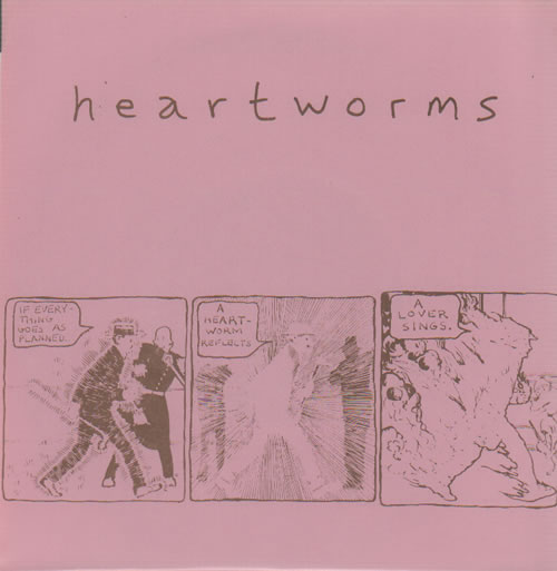 """Heartworms If Everything Goes As Planned EP 7"""" vinyl single (7 inch record) US HXE07IF633989"""
