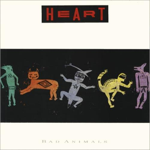 Heart Bad Animals vinyl LP album (LP record) UK HEALPBA238138