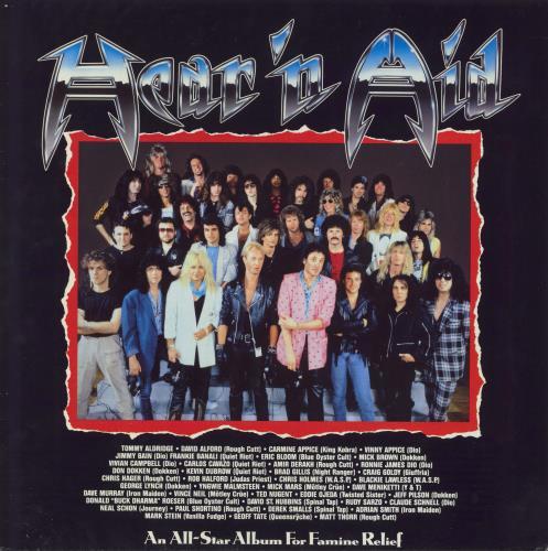 Hear 'N Aid Hear 'N Aid vinyl LP album (LP record) UK HE1LPHE439075