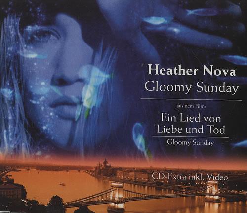 "Heather Nova Gloomy Sunday CD single (CD5 / 5"") German HNVC5GL145339"