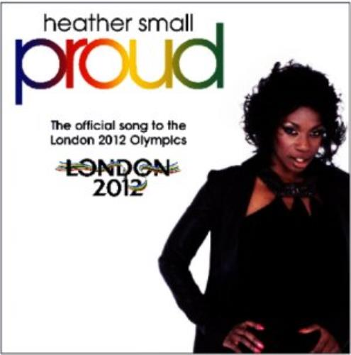 "Heather Small Proud CD single (CD5 / 5"") UK HSLC5PR330722"