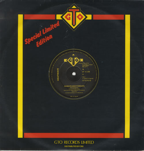 "Heatwave Always And Forever 12"" vinyl single (12 inch record / Maxi-single) UK HAQ12AL521689"