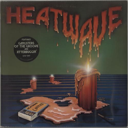 Heatwave Candles + Insert vinyl LP album (LP record) UK HAQLPCA662941