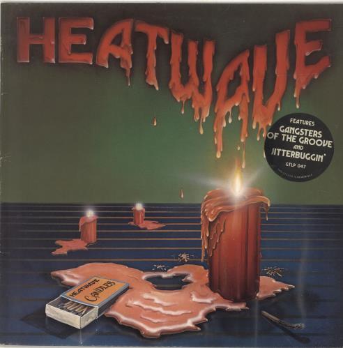 Heatwave Candles vinyl LP album (LP record) UK HAQLPCA522309