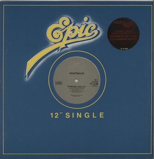 """Heatwave Gangsters Of The Groove - Stickered 12"""" vinyl single (12 inch record / Maxi-single) UK HAQ12GA632865"""