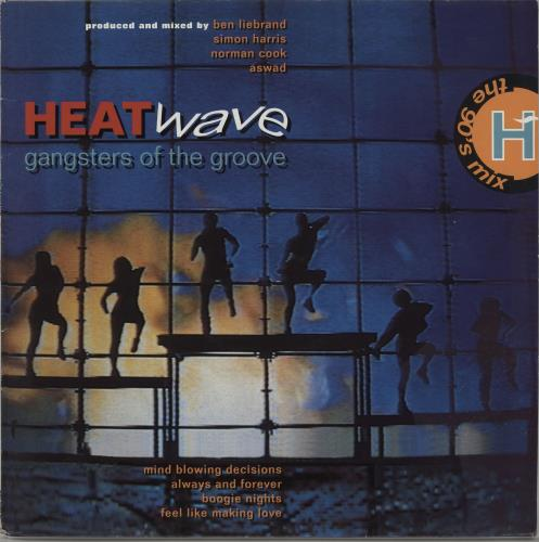 Heatwave Gangsters Of The Groove vinyl LP album (LP record) UK HAQLPGA659698