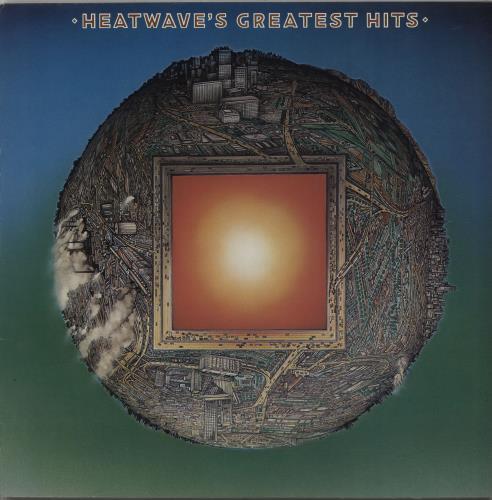 Heatwave Heatwave's Greatest Hits vinyl LP album (LP record) UK HAQLPHE662311