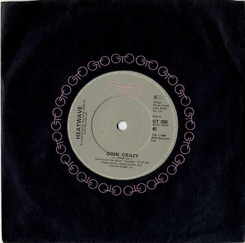 "Heatwave Jitterbuggin' 7"" vinyl single (7 inch record) UK HAQ07JI622096"