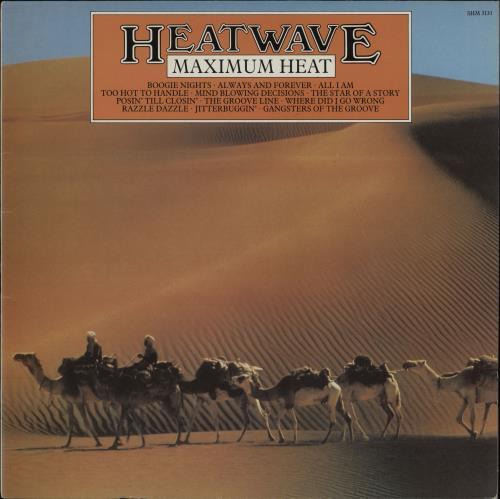 Heatwave Maximum Heat vinyl LP album (LP record) UK HAQLPMA757274