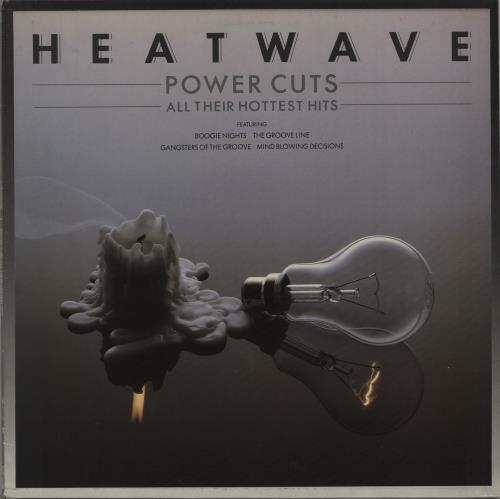 Heatwave Power Cuts - All Their Hottest Hits vinyl LP album (LP record) UK HAQLPPO667352