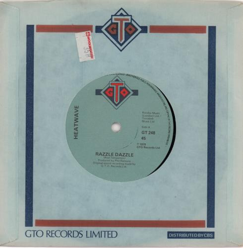 "Heatwave Razzle Dazzle 7"" vinyl single (7 inch record) UK HAQ07RA663893"