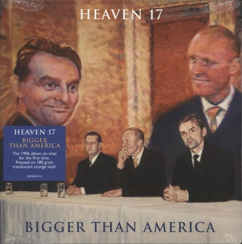 Heaven 17 Bigger Than America - RSD19 - 180gm Orange Vinyl vinyl LP album (LP record) UK H17LPBI718534