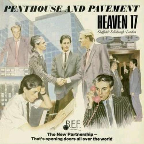 Heaven 17 Penthouse & Pavement CD album (CDLP) UK H17CDPE366758