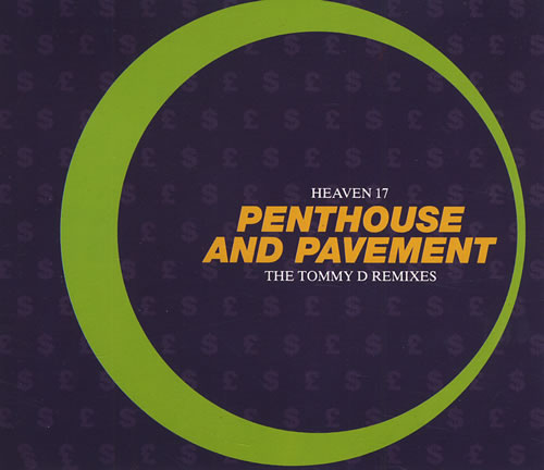 "Heaven 17 Penthouse And Pavement - Autographed! CD single (CD5 / 5"") UK H17C5PE432256"