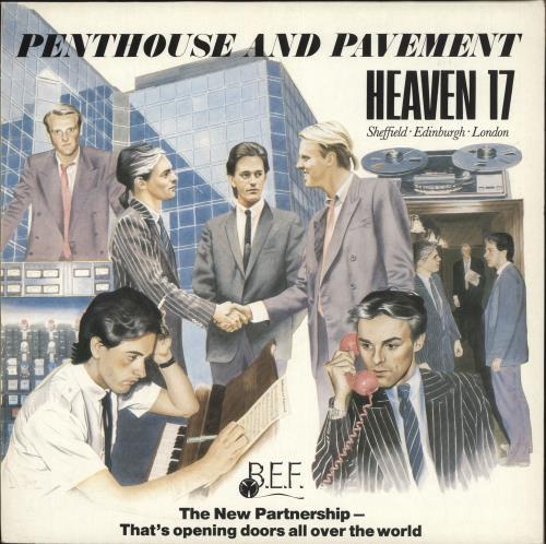 Heaven 17 Penthouse And Pavement vinyl LP album (LP record) UK H17LPPE330856