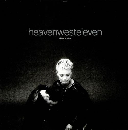 """Heaven West Eleven She's In Love 12"""" vinyl single (12 inch record / Maxi-single) UK HJC12SH523641"""