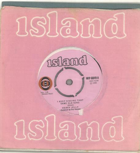 "Heavy Jelly I Keep Singing That Same Old Song 7"" vinyl single (7 inch record) UK QFB07IK694548"