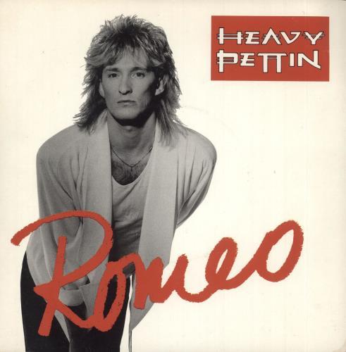 """Heavy Pettin Romeo 7"""" vinyl single (7 inch record) UK HEV07RO733282"""