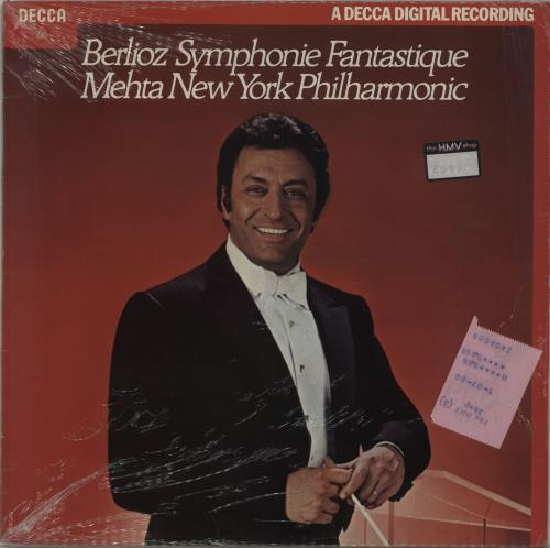 Hector Berlioz Symphonie Fantastique vinyl LP album (LP record) UK B76LPSY674301