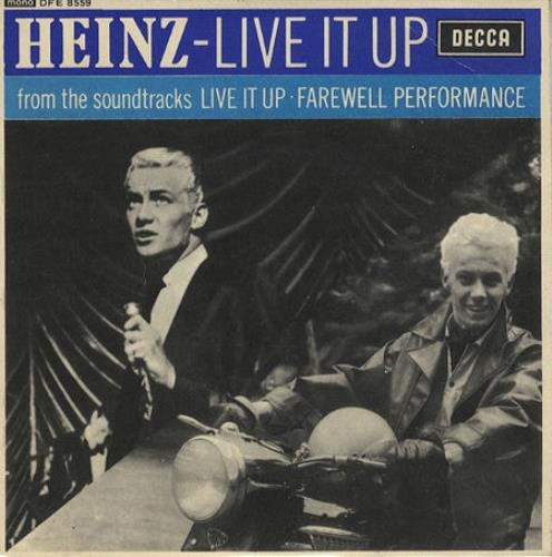 "Heinz Live It Up EP 7"" vinyl single (7 inch record) UK ZNI07LI211997"