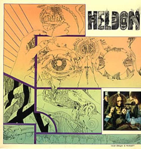 Heldon Electronique Guerilla vinyl LP album (LP record) French LEHLPEL281390