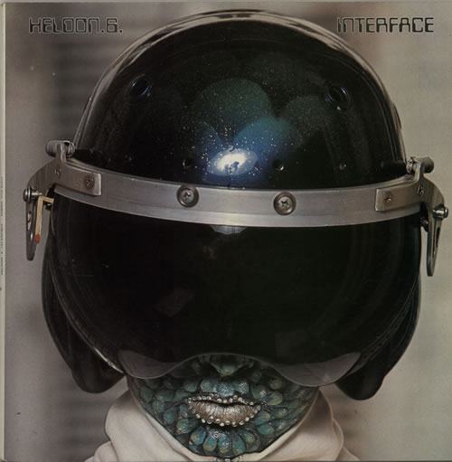 Heldon Heldon 6 - Interface vinyl LP album (LP record) French LEHLPIN234922