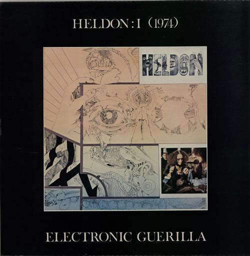Heldon I (1974) Electronic Guerilla vinyl LP album (LP record) French LEHLPIE632431