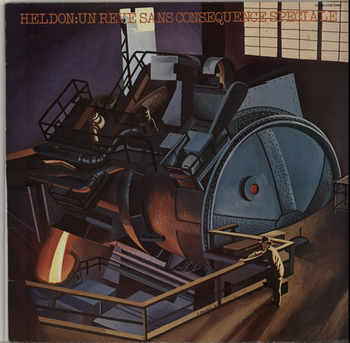 Heldon Un Rêve Sans Conséquence Spéciale vinyl LP album (LP record) French LEHLPUN632433