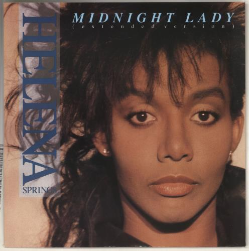 "Helena Springs Midnight Lady 12"" vinyl single (12 inch record / Maxi-single) UK HZL12MI726187"