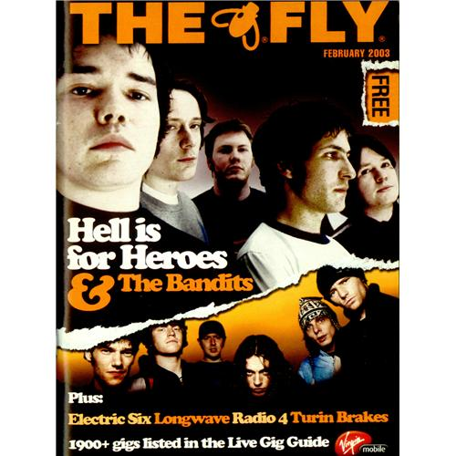 Hell Is For Heroes The Fly - February 2003 magazine UK H/HMATH424678