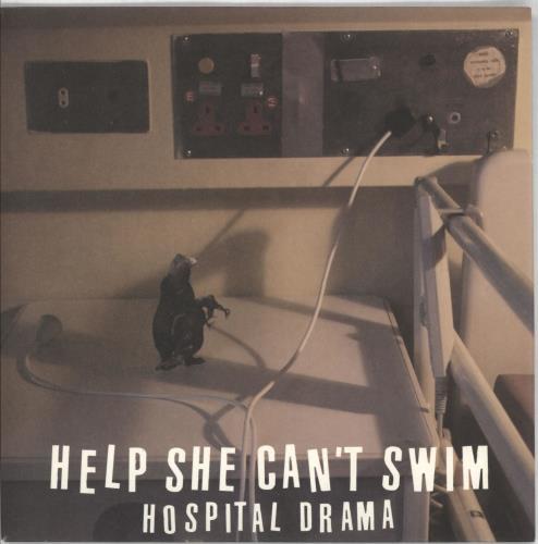 "Help She Can't Swim Hospital Drama 7"" vinyl single (7 inch record) UK HBH07HO707354"