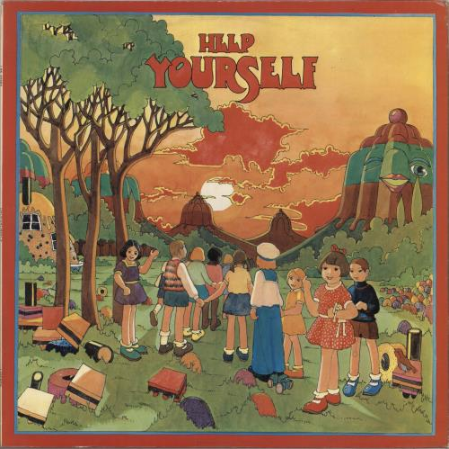 Help Yourself Help Yourself vinyl LP album (LP record) UK HPFLPHE735036