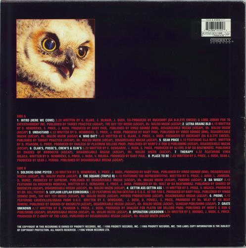 Heltah Skeltah Nocturnal vinyl LP album (LP record) UK Q7MLPNO770368