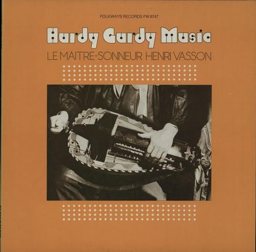 Henri Vasson Hurdy Gurdy Music / Le Maitre-Sonneur Henri Vasson vinyl LP album (LP record) US HS8LPHU565269