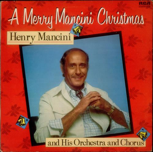 Henry Mancini A Merry Mancini Christmas vinyl LP album (LP record) UK MNCLPAM547177