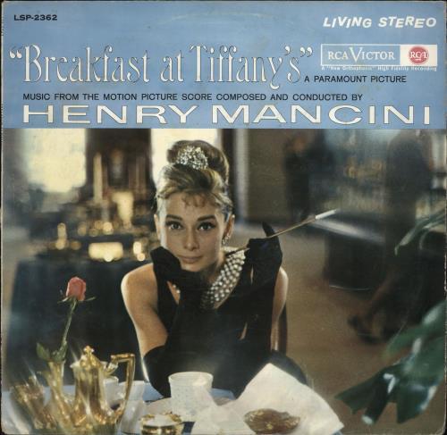 Henry Mancini Breakfast At Tiffany's vinyl LP album (LP record) German MNCLPBR766675
