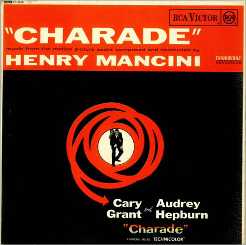 Henry Mancini Charade vinyl LP album (LP record) UK MNCLPCH490117