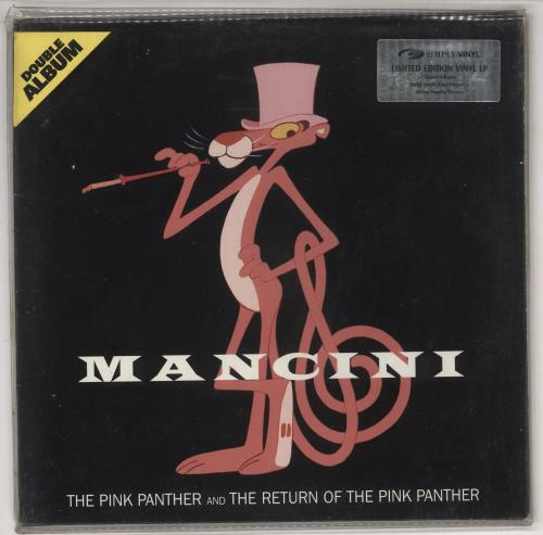 Henry Mancini The Pink Panther And The Return Of The Pink Panther 2-LP vinyl record set (Double Album) UK MNC2LTH733145