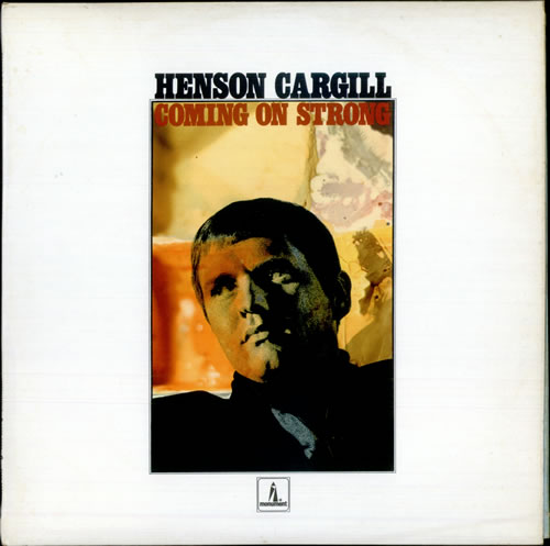 Henson Cargill Coming On Strong vinyl LP album (LP record) UK HNGLPCO514163