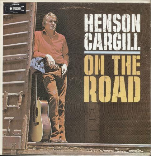 Henson Cargill On The Road vinyl LP album (LP record) US HNGLPON699663