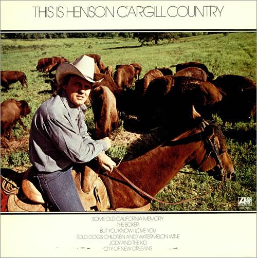 Henson Cargill This Is Henson Cargill Country vinyl LP album (LP record) US HNGLPTH466684