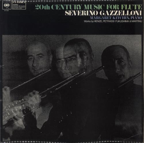 Henze 20th Century Music For Flute vinyl LP album (LP record) UK HFPLPTH767280