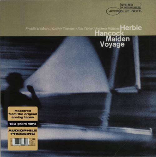 Herbie Hancock Maiden Voyage - 180gram vinyl LP album (LP record) US HHALPMA597266
