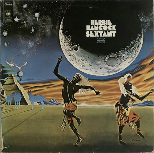 Herbie Hancock Sextant vinyl LP album (LP record) Dutch HHALPSE626888