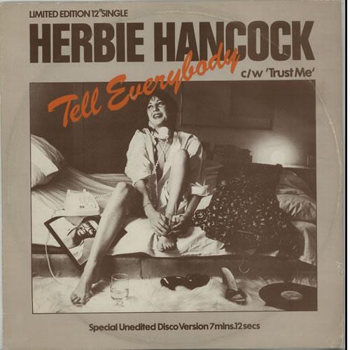 "Herbie Hancock Tell Me 12"" vinyl single (12 inch record / Maxi-single) UK HHA12TE637813"