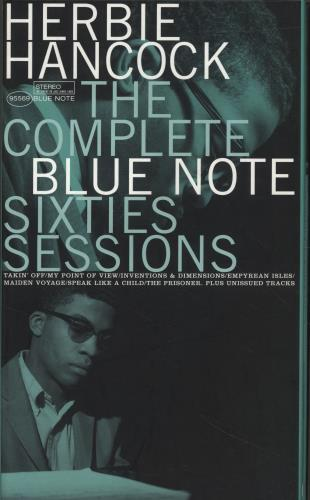 Herbie Hancock The Complete Blue Note Sixties Sessions 6-CD album set US HHA6CTH538313