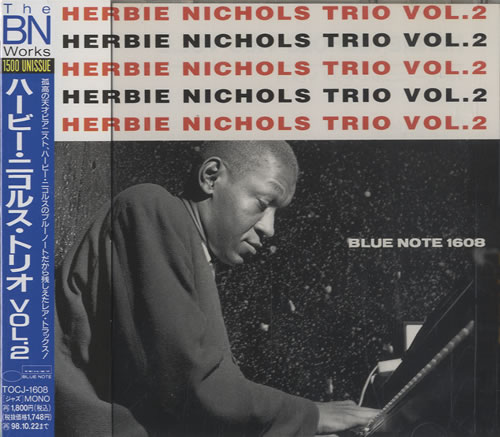 Herbie Nichols Herbie Nichols Trio Vol.2 CD album (CDLP) Japanese HNICDHE515392